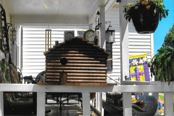 Duplex Bird House - Handmade