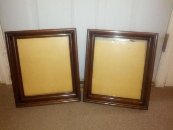 shawdow box frames
